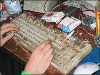 komputer kotor
